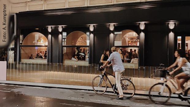 """""""Everybody's Darling"""" heißt die neue Bar in Wiens 1. Bezirk, die Starkoch Alexander Kumptner mit dem Team des Clubs """"Volksgarten"""" betreibt. Gestern fand die Eröffnung statt. (Foto: A. Kumptner)"""