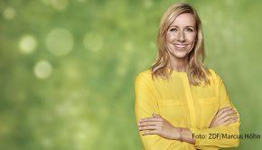 """Die Gastgeberin des """"ZDF-Fernsehgartens"""", Andrea Kiewel, ist am Samstag bei barba radio zu Gast. Im Interview spricht die Moderatorin und Buchautorin u.a. über ihren Zweitwohnsitz in Tel Aviv und ihren Freund, der dort lebt. (Foto: ZDF/Marcus Höhn)"""