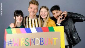 """Mit der Serie """"Berlin – Tag und Nacht"""" unterstützt RTLzwei das """"No Hate Speech Movement"""". Nach der heutigen Folge wird eine Video-Statement zum Thema ausgestrahlt, zudem stellt der Sender Infos in einem Online-Special zur Verfügung. (Foto: RTLzwei)"""