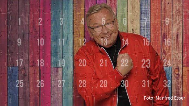 Der Kölner Entertainer Bernd Stelter öffnet heute das erste Türchen seines Karnevalskalenders. In diesem Jahr wird der höchste Feiertag der Närrinnen und Narren sicherlich anders gefeiert als üblich. Trotzdem: In einem Monat ist Rosenmontag. Und bis dahin gibt's auf Youtube und Facebook 32 digitale Stelter-Türchen. (Foto: Manfred Esser)