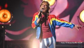 """Die RTL-Musikshow """"Big Performance"""" geht am morgigen 26. September in ihre vorletzte Runde. Neu dabei ist diesmal Rolling Stones-Frontmann Mick Jagger – hinter dessen Maske sich ein Prominenter verbirgt. (Foto: TV Now/Steffen Wolff)"""