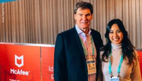 Jede Menge zukunftsweisende Technik gab's bei der CES 2020 letzte Woche in Las Vegas – ein Paradies für Tech-Influencerin und Moderatorin Sophia Tran, die Unternehmer Carsten Maschmeyer zu einer der größten Messen für Unterhaltungselektronik begleitete. (Foto: Sophia Tran)