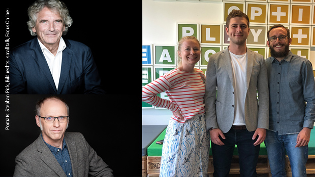 Porträts: Stephan Pick; Foto rechts: smalltalk/FOCUS Online