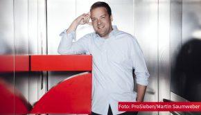 Den Top-Nachwuchs im europäischen Fußball zeigt Senderchef Daniel Rosemann ab Ende März auf ProSieben und ProSieben Maxx. Die beiden Sender übertragen alle Partien der U21-Europameisterschaft in Ungarn und Slowenien. (Foto: ProSieben/Martin Saumweber)