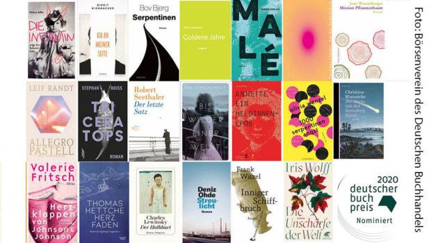 Seit 2005 vergibt der Börsenverein des Deutschen Buchhandels jährlich den Deutschen Buchpreis. Heute wurde die von einer Fachjury ermittelte Liste mit 20 Romanen veröffentlicht, die 2020 ins Rennen um die begehrte Auszeichnung gehen. (Foto: Börsenverein des Deutschen Buchhandels)