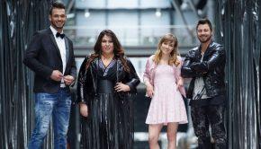 """Die""""DSDS""""-Finalisten. V.l.: Michael Rauscher, Janina el Arguioui, Marie Wegener und Michel Truog.  Verwendung der Bilder für Online-Medien ausschließlich mit folgender Verlinkung:""""Alle Infos zu """"Deutschland sucht den Superstar"""" im Special bei RTL.de: http://www.rtl.de/cms/sendungen/superstar.html"""