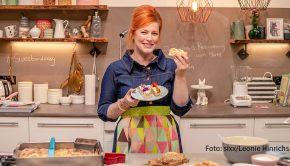 """Zu Enie van de Meiklokjes' TV-Show """"Sweet & Easy – Enie backt"""" ist in dieser Woche ein neues Buch erschienen. Zudem ist die Backexpertin am Sonntag wieder als Moderatorin von """"Das große Backen"""" in Sat.1 zu sehen. (Foto: sixx/Leonie Hinrichs)"""