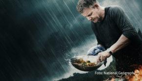 """Für Starkoch Gordon Ramsay sind ab dem heutigen 7. September wieder """"Kulinarische Abenteuer"""" angesagt. National Geographic zeigt die zweite Staffel der gleichnamigen Serie immer montags als deutsche TV-Premiere. (Foto: National Geographic)"""