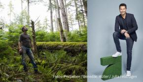 """Mit dem """"Green Seven Report: Unser Wald brennt!"""" starten Stefan Gödde und Thore Schölermann am heutigen 21. September in die Umwelt-Themenwoche bei ProSieben. In der gut zweistündigen Reportage und weiteren Beiträgen befasst sich der Sender mit dem Zustand der Wälder. (Fotos: ProSieben/Benedikt Müller/Julia Feldhagen)"""