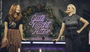 """Youtuberin Silvi Carlsson war gestern zu Gast in Ariane Alters Late-Night-Show """"Gute Nacht Alter"""" und sprach über Empowerment, ihr Faible für Tarotkarten und vieles mehr. Die neue Folge ist abrufbar bei funk und Youtube. (Foto: Philipp Thurmaier)"""