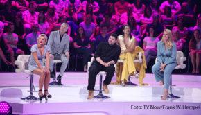 """Das Promi-Panel in der Comedy-Musikshow """"I Can See Your Voice"""" ist heute Abend wieder gefordert. Nach dem gelungenen Debüt von gestern strahlt RTL nun die zweite Folge aus. (Foto: TV Now/Frank W. Hempel)"""