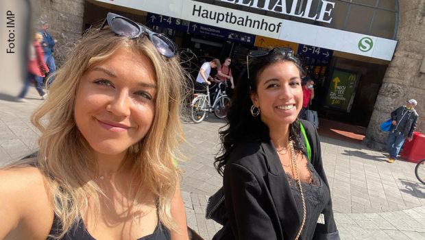Ira Hendricks und Noemi Gebremedhin von der zur Kick-Media AG gehörenden Abteilung IMP – Influencer Management Place treiben die Entwicklung des Influencer-Marketings voran. (Foto: IMP)