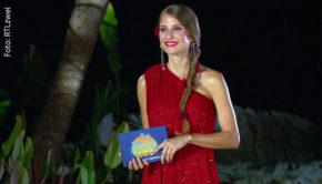 """Morgen Abend begrüßt Moderatorin Cathy Hummels die Neuzugänge Johannes Haller und Melissa Dahm beim """"Kampf der Realitystars"""". RTLzwei zeigt die zweite Runde der in Thailand aufgezeichneten Spielshow um 20:15 Uhr. (Foto: RTLzwei)"""