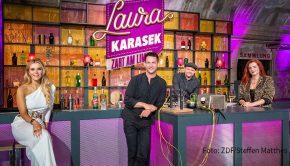 """Das Thema """"Angst"""" steht am morgigen 3. Dezember bei """"Laura Karasek – Zart am Limit"""" auf ZDFneo im Mittelpunkt. Die Moderation begrüßt dazu Alexander Kumptner, Max Giermann und Silvi Carlsson als Talk-Gäste. (Foto: ZDF/Steffen Matthes)"""