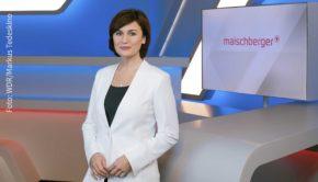 Sandra Maischberger lädt morgen zu einer neuen Ausgabe ihrer Talkshow im Ersten ein. Einer ihrer Gäste in der ersten Sendung nach der Sommerpause ist der ehemalige Bundespräsident Joachim Gauck. (Foto: WDR/Markus Tedeskino)