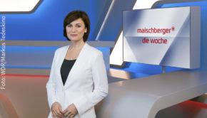 """Mit Politikern, Kulturschaffenden und Journalisten erörtert Sandra Maischberger am späten Mittwochabend die jüngsten Entwicklungen in der Corona-Krise. """"Maischberger. Die Woche"""" läuft ab 23:45 Uhr im Ersten. (Foto: WDR/Markus Tedeskino)"""