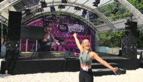 """Im München findet heute zum zweiten Mal der vom """"Burda Bootcamp"""" ausgerichtete """"FitTech Summit"""" statt. Eine der Moderatorinnen bei Europas erster Konferenz für Fitness- und Sport-Technologien ist Personal Trainerin und Fitnessmodel Mareike Spaleck."""