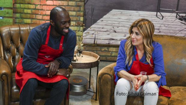 """Die dritte Ausgabe der Sky-Kochshow """"MasterChef Celebrity"""" steht am 14. September auf dem Programm. Dabei läuft es zwischen Hans Sarpei und Panagiota Petridou nicht gerade rund. (Foto: Silviu Guiman)"""