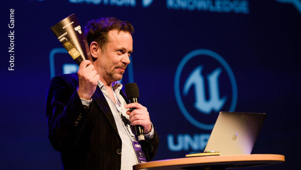 """Zur 17. Auflage des Kongresses Nordic Game begrüßt Programmdirektor Jacob Riis die Teilnehmer ab morgen zunächst nur in virtueller Form. Für den November ist aber auch noch eine """"richtige"""" Veranstaltung im schwedischen Malmö geplant. (Foto: Nordic Game)"""