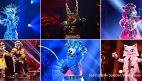 """Schon heute ist """"The Masked Singer""""-Tag auf ProSieben. Auch in der anschließenden Late Night-Show von Klaas Heufer-Umlauf, den bislang viele Fans hinter der Maske des """"Anubis"""" vermuteten, geht's um die Musik-Rateshow. (Foto: obs/ProSieben/Willi Weber)"""