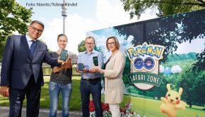 30.05.2018dortmund - westfalen park, Pressekonferenz zum Pokemon event am 30.06./01.07.2018