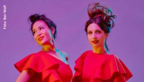 Unter dem Namen Queenz of Piano führen Ming und Jennifer Rüth musikalische Elemente aus Klassik sowie Pop und Rock zusammen. Ihr von Mousse T. produziertes Debütalbum kommt am 27. März auf den Markt. (Foto: Ben Wolf)
