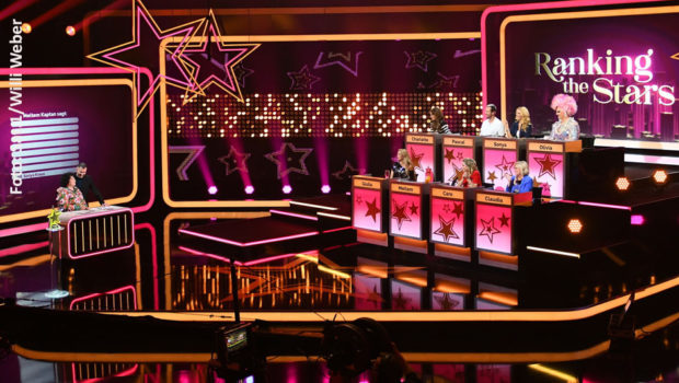 """Die dritte Folge der Show """"Ranking the Stars"""" steht am morgigen Mittwoch in Sat.1 auf dem Programm. Auch diesmal wirkt ein achtköpfiges Panel mit mutigen Prominenten mit. (Foto: Sat.1/Willi Weber)"""