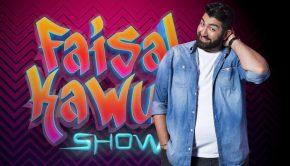 """""""Die Faisal Kawusi Show"""": Zieht das Comedy-Schwergewicht bei den Chippendales blank? Freitag, 13. April, 22:35 Uhr in SAT.1  Er tanzt mit den Chippendales, macht ein Meerjungfrauentraining oder schwingt beim Tarzan-Musical an der Liane. Er ist lustig, selbstironisch, liebenswürdig und unverfroren. In seiner neuen, eigenen Comedy-Latenight geht Faisal Kawusi nicht nur immer wieder an seine Grenzen und darüber hinaus, sondern zeigt außerdem ein abwechslungsreiches Programm. Neben klassischem Stand-Up, prominenten Studiogästen, Umfragen und versteckten Kamera-Aktionen mischt er sich unter anderem auch unters Volk und überprüft, was Deutschland bewegt.   Die Faisal Kawusi Show, sechs Folgen ab Freitag, 13. April 2018, 22.35 Uhr in SAT.1  Titel: Die Faisal Kawusi Show;  Person: Faisal Kawusi;  Credit (c) SAT.1/Willi Weber  Rechtehinweis: Dieses Bild darf bis eine Woche nach Ausstrahlung honorarfrei fuer redaktionelle Zwecke und nur im Rahmen der Programmankuendigung verwendet werden. Spaetere Veroeffentlichungen sind nur nach Ruecksprache und ausdruecklicher Genehmigung der ProSiebenSat1 TV Deutschland GmbH moeglich. Nicht fuer EPG! Verwendung nur mit vollstaendigem Copyrightvermerk. Das Foto darf nicht veraendert, bearbeitet und nur im Ganzen verwendet werden. Es darf nicht archiviert werden. Es darf nicht an Dritte weitergeleitet werden. Bei Fragen: foto@prosiebensat1.com Voraussetzung fuer die Verwendung dieser Programmdaten ist die Zustimmung zu den Allgemeinen Geschaeftsbedingungen der Presselounges der Sender der ProSiebenSat.1 Media SE.; Weiterer Text über ots und www.presseportal.de/nr/6708 / Die Verwendung dieses Bildes ist für redaktionelle Zwecke honorarfrei. Veröffentlichung bitte unter Quellenangabe: """"obs/SAT.1/Willi Weber"""""""
