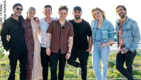 """Anfang März wurde die siebte Staffel der Musikshow """"Sing meinen Song"""" in Südafrika gedreht. Heute Abend strahlt Vox die erste Folge aus, in der Lieder von Max Giesinger auf dem Programm stehen. (Foto: TV Now/Markus Hertrich)"""