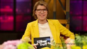 """Die Reihe """"Talk am Dienstag"""" im Ersten wird ab dem heutigen 29. September fortgesetzt. Erste Sendung nach der Sommerpause ist der """"Kölner Treff"""" mit Moderatorin Bettina Böttinger. (Foto: WDR/Melanie Grande)"""