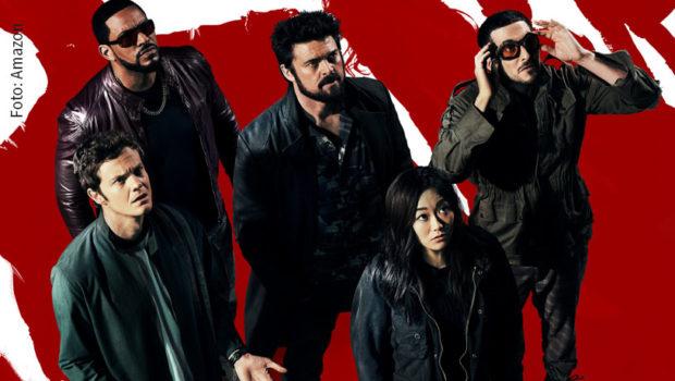 """""""The Boys"""" treten auf Amazon Prime Video zum Feldzug gegen korrupte und rücksichtslose Superhelden an. Am 4. September startet der Streamingdienst die zweite Staffel seiner erfolgreichen Serien-Eigenproduktion. (Foto: Amazon)"""