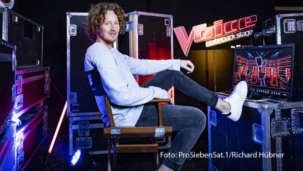 """Bei der Jubiläums-Staffel von """"The Voice of Germany"""" ist auch Michael Schulte beteiligt. Der ehemalige ESC-Teilnehmer wird Nachfolger von Nico Santos als Online-Coach. (Foto: ProSiebenSat.1/Richard Hübner)"""