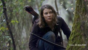 """Nach der Winterpause wird Staffel 10 von """"The Walking Dead"""" nun endgültig zum Abschluss gebracht. Ab dem heutigen 1. März strahlt Fox sechs neue Folgen der Zombie-Serie als deutsche TV-Premiere aus. Darin gibt's u.a. ein Wiedersehen mit Lauren Cohan als """"Maggie Green"""". (Foto: Eli Ade/AMC)"""