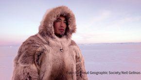 """National Geographic zeigt die Dokumentation """"The Last Ice – Rettung für die Arktis"""" über den Überlebenskampf der Inuit angesichts der drohenden Klimakatastrophe. Die deutsche Erstausstrahlung läuft am morgigen 27. November um 22:40 Uhr. (Foto: National Geographic Society/Neil Gelinas)"""