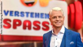 """Am kommenden Samstag führt Guido Cantz im Ersten wieder durch die SWR-Show """"Verstehen Sie Spaß?"""". Zuvor ist er aber noch als Gast in der Talkshow """"Kölner Treff"""" mit von der Partie, die am Dienstagabend ebenfalls im Ersten ausgestrahlt wird. (Foto: SWR/Wolfgang Breiteneicher)"""