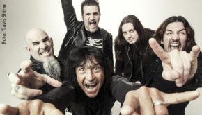 """""""Wacken World Wide"""" heißt es ab dem morgigen Mittwoch vier Tage lang beim virtuellen Ersatz-Event für das berühmte Festival in Schleswig-Holstein. Zu den namhaften Acts, die am ersten Tag exklusive Auftritte beisteuern, zählt u.a. die New Yorker Metal-Band Anthrax. (Foto: Travis Shinn)"""