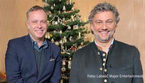 """An Heiligabend um 22:30 Uhr strahlt das ZDF """"Weihnachten mit Jonas Kaufmann"""" aus. Die Berliner Firma C Major Entertainment hat dieses Special als Co-Produzent in Zusammenarbeit mit dem ZDF und Sony Classical realisiert und hält auch die internationalen TV- und VoD-Rechte. (Foto: C Major Entertainment)"""
