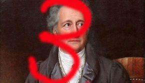 Bild: Goethe-Bildnis von Joseph Karl Stieler