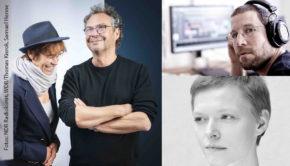 Fotos: NDR Radiokunst, WDR/Thomas Kierok, Samuel Henne