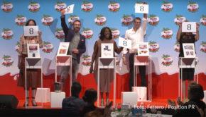 Andrea Sawatzki, Natalia Wörner, Kai Wiesinger, Motsi Mabuse und Robert Hunke waren am kinderTag 2020 als Paten für verschiedene soziale Einrichtungen dabei. Zudem gab es ein exklusives Konzert mit Tim Bendzko. Moderiert wurde die Veranstaltung von Barbara Schöneberger. (Foto: Ferrero/Position)