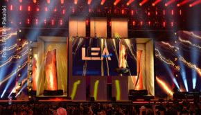 Die Verleihung des PRG Live Entertainment Awards (LEA) musste 2020 Corona-bedingt abgesagt werden. Im kommenden Frühjahr soll es wieder ein Event in Frankfurt geben. (Foto: LEA/Ben Pakalski)