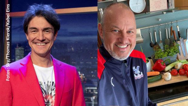 """Heute am späten Nachmittag steht auf Sky Sport News HD wieder """"Matze Knops Homeoffice"""" auf dem Sendeplan. Zugeschalteter Talkgast ist diesmal der Spitzenkoch Frank Rosin. (Fotos: Sky/Thomas Kierok/Kabel Eins)"""