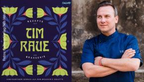 """Der Berliner Zwei-Sterne-Koch Tim Raue bringt in einem neuen Kochbuch seine frankophile Seite zum Ausdruck. """"Rezepte aus der Brasserie"""" ist seit dieser Woche erhältlich. (Fotos: Callwey Verlag/Nils Hasenau)"""